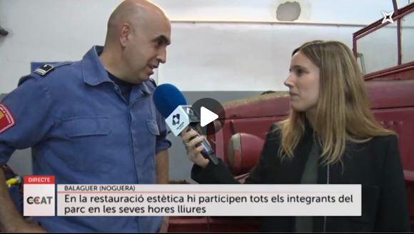 Connecti.cat: Restauració dels primers vehicles dels Bombers de Balaguer