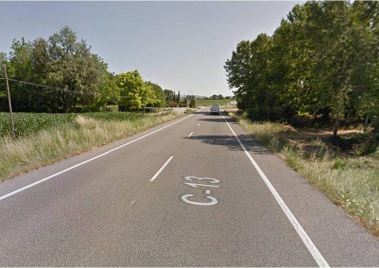 Accident mortal a la C-13 a Vallfogona de Balaguer