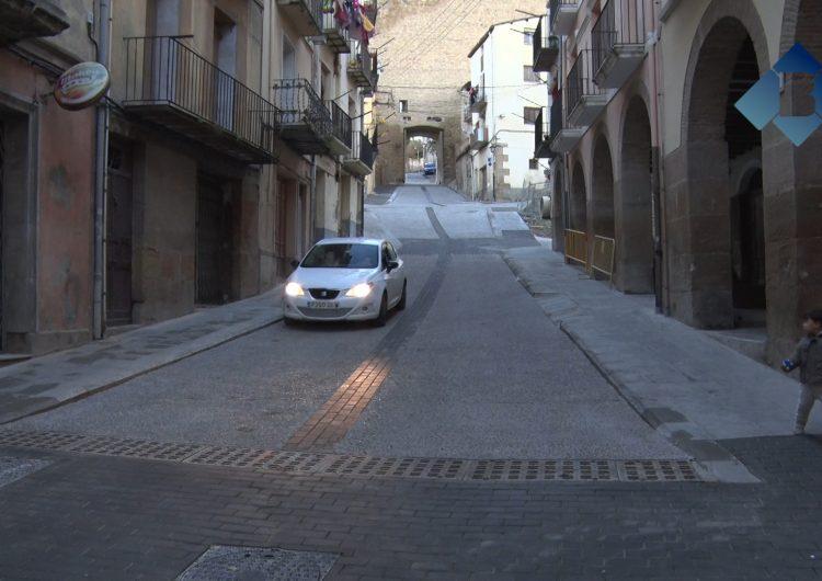 L'Ajuntament de Balaguer obre el trànsit del carrer Botera