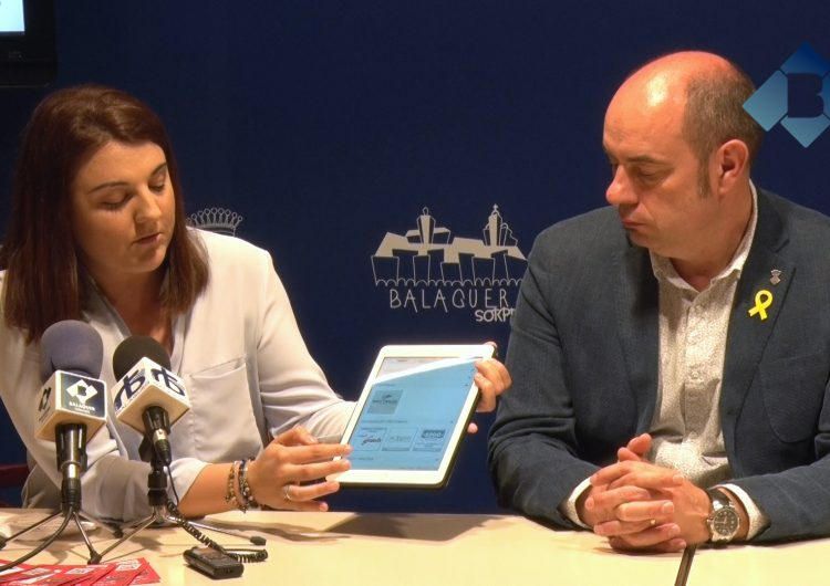 Presenten 'BUYBYEgo', una nova aplicació mòbil per fer encàrrecs i compres al comerç de Balaguer