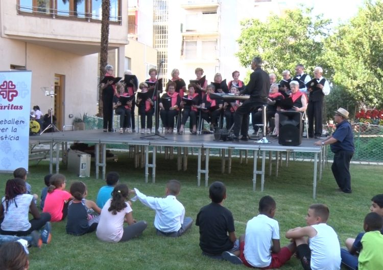 Càritas Balaguer celebra la festa de fi de curs