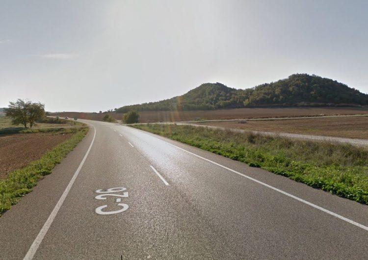 Una dona d'Artesa de Segre perd la vida en un accident a la c-26 a Foradada