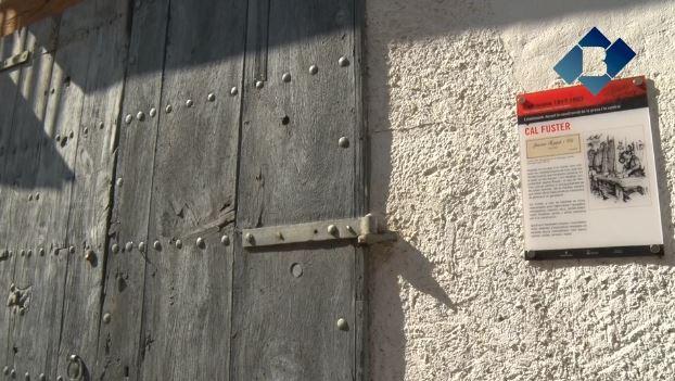 Camarasa recorda amb un total de quaranta-cinc plafons els locals que van aparèixer amb l'inici de les obres de la presa