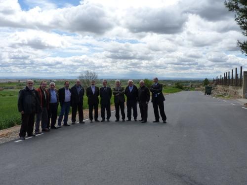 Agricultura inaugura més de 6.800 metres de camins rurals a Balaguer, Camarasa i Vallfogona de Balaguer