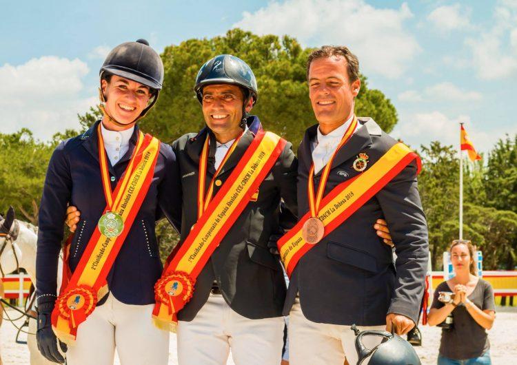 Albert Hermoso, campió d'Espanya absolut de Concurs Complet