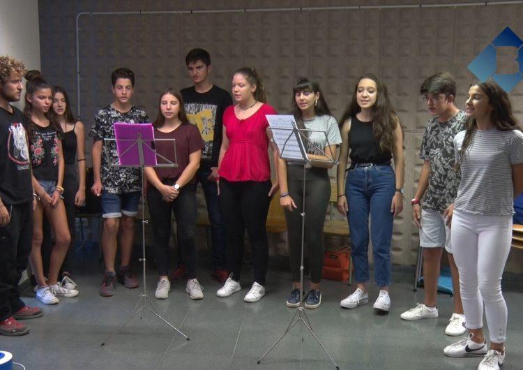 L'Escola Municipal de Música de Balaguer prepara una cançó dedicada a l'1-O