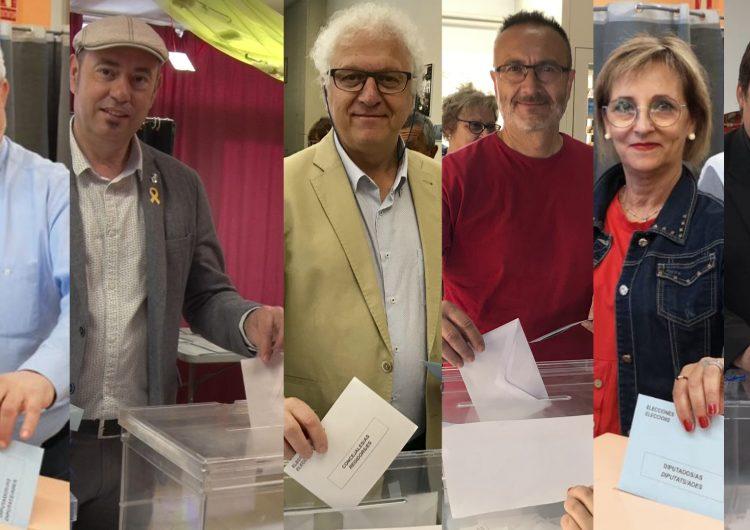 Balaguer es mobilitza en la jornada electoral del 26M