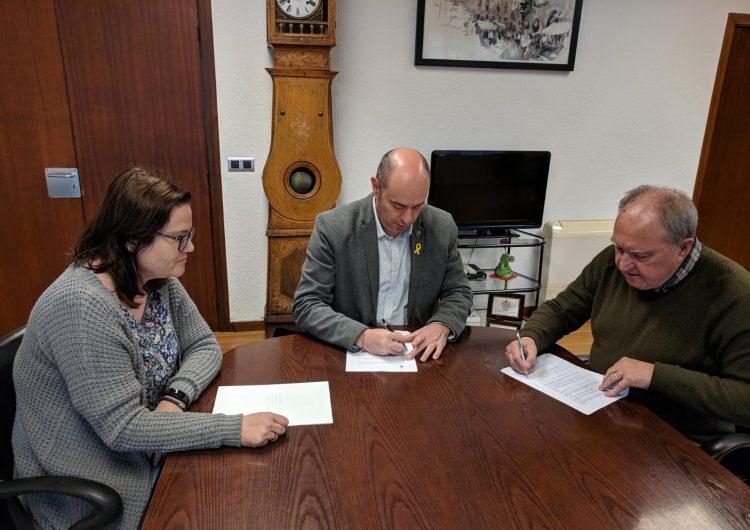 L'Ajuntament de Balaguer signa un conveni amb Càritas Urgell per ajudes socials a famílies de la ciutat