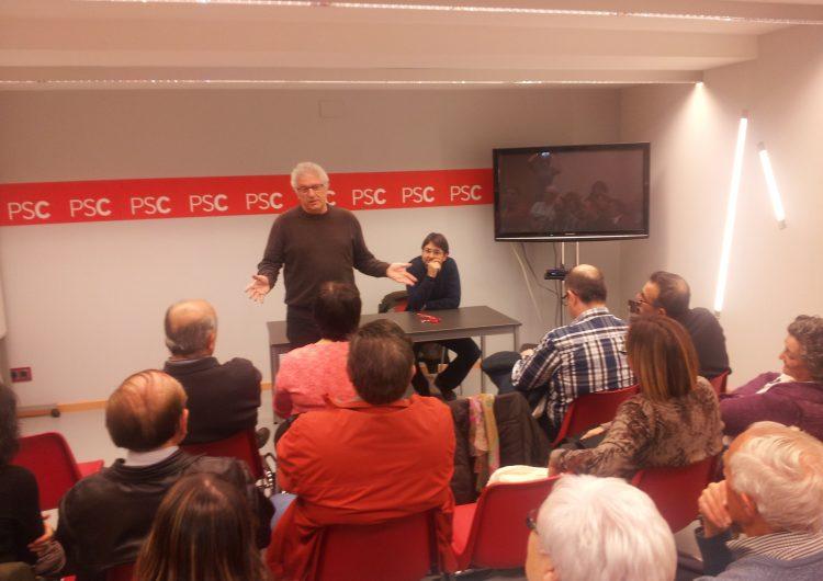 Carlos García, elegit per unanimitat en l'assemblea de militants del PSC de Balaguer