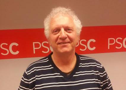 Carlos Garcia, candidat del PSC a Balaguer
