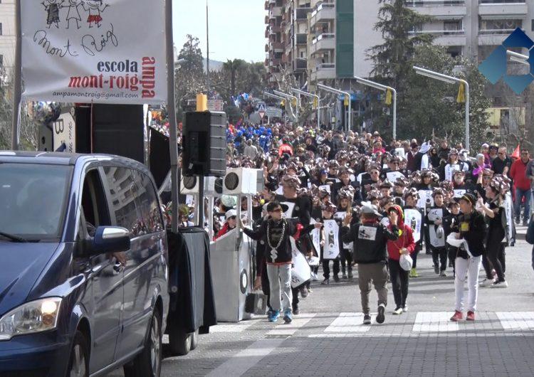 Gran Rua Infantil de Carnestoltes a Balaguer