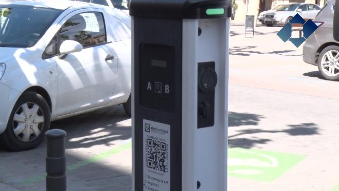 Un any després del carregador de vehicles elèctrics Balaguer aconsegueix reduir en dues tones l'emissió de CO₂