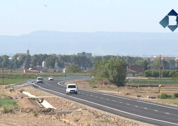 Oberta al trànsit la carretera de Bellcaire d'Urgell a Linyola