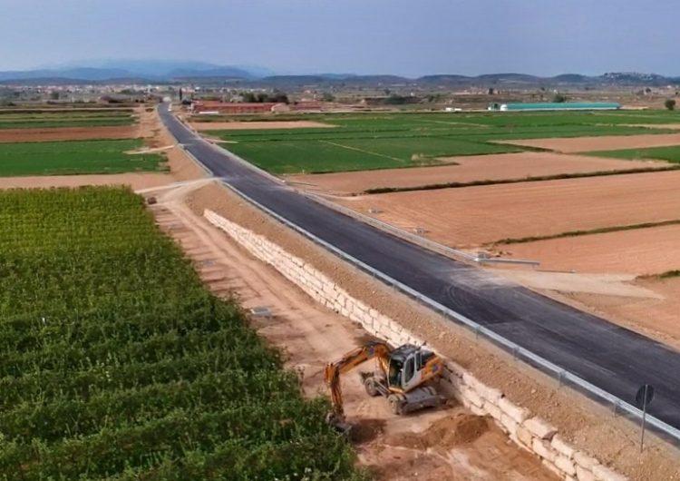 La carretera de Bellcaire d'Urgell a Linyola obrirà al trànsit aquest dilluns