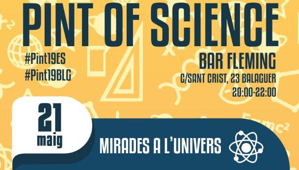 """El festival de divulgació científica """"Pint of Science"""" arriba per primera vegada a  la comarca"""