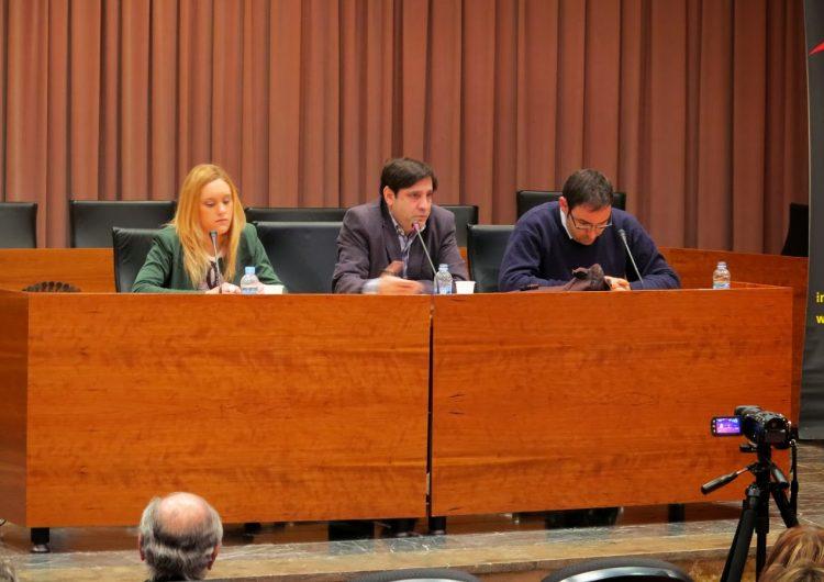 Eugeni Casanova parla del procès d'independència a Balaguer