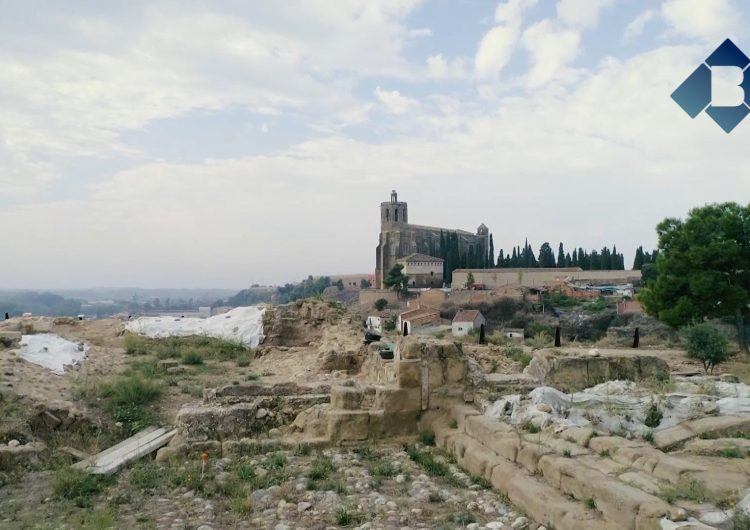 Balaguer demana ajuts europeus per cobrir les restes del Castell Formós