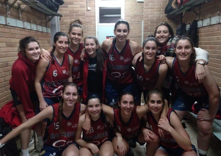 Les noies del CB Balaguer, líders de primera catalana al final de la primera volta