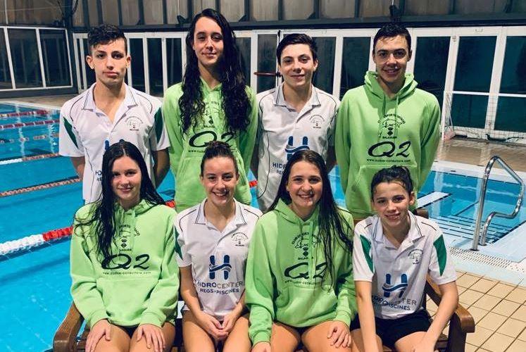 Vuit nedadors del CEN Balaguer al Campionat de Catalunya de natació infantil i junior d'hivern