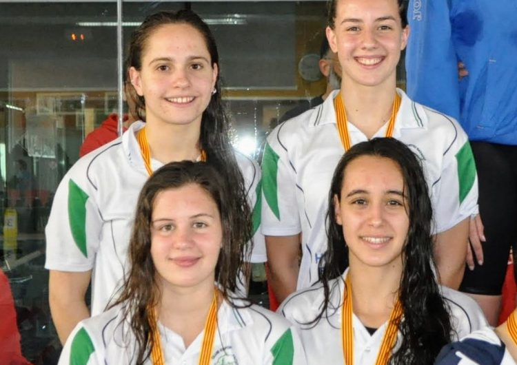 Dotze medalles del CEN Balaguer al Campionat Provincial de Natació en categoria absoluta
