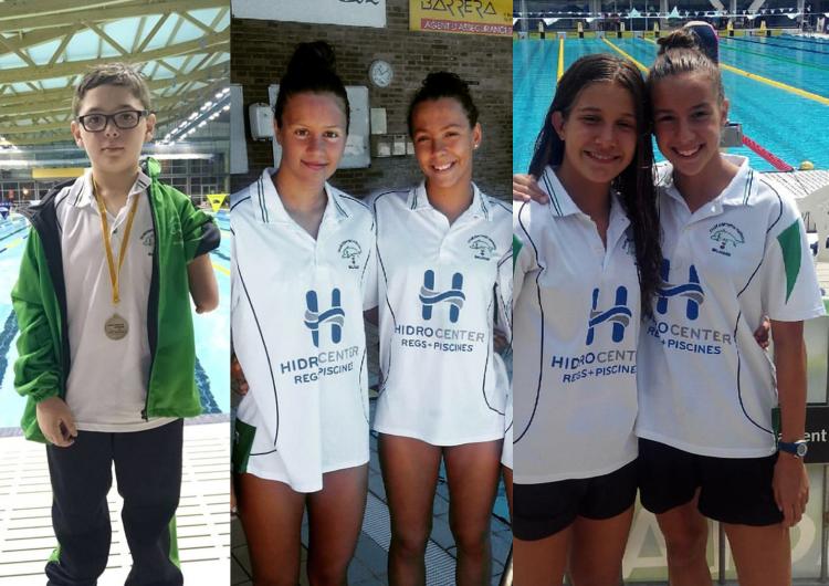 Cinc nedadors del CEN Balaguer seleccionats en diferents programes de seguiment