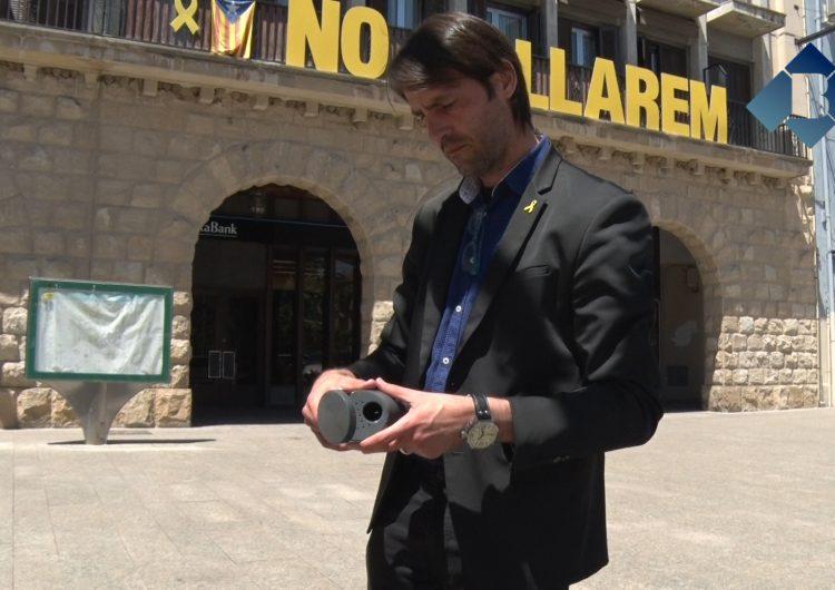 Balaguer vol reduir el nombre de burilles als carrers amb la instal·lació de cendrers a les papereres