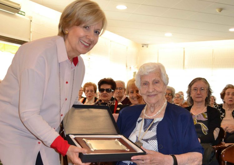 Balaguer celebra el centenari de la seva veïna Dolors Oliva