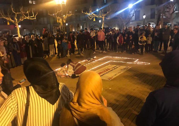 Acte de rebuig a l'atac terrorista de Nova Zelanda a Balaguer