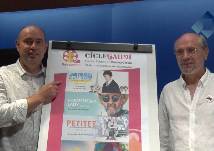 Balaguer s'adhereix al Cicle Gaudí i oferirà cinema català cada últim divendres de mes
