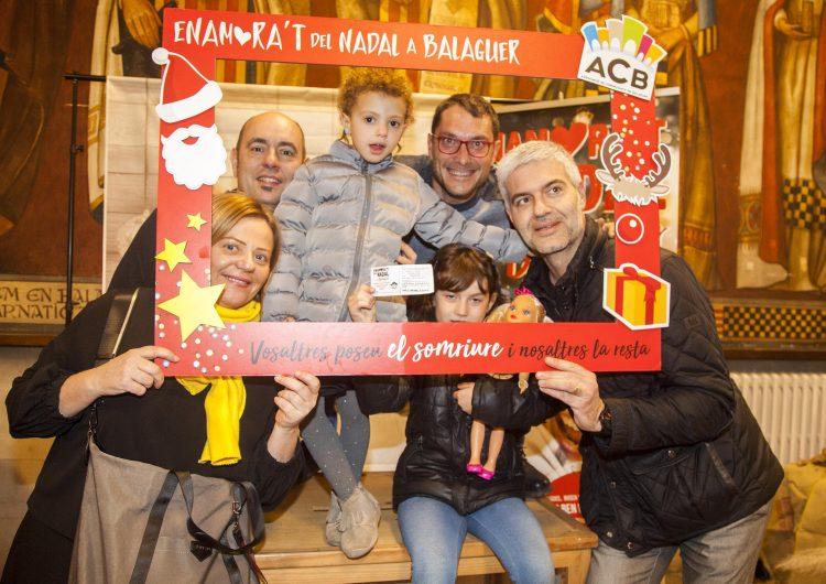 Marta Vilalta guanya la gran cistella de l'Associació de Comerciants de Balaguer