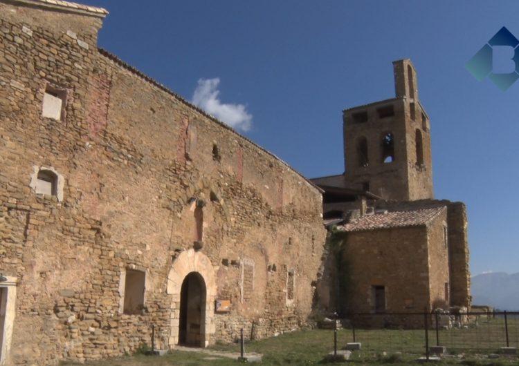 Reobren la Col·legiata de Sant Pere d'Àger després de contractar guies turísitcs