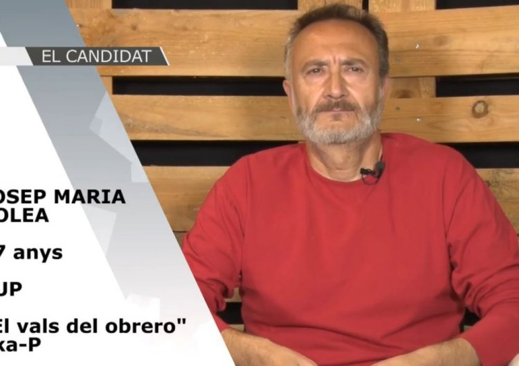 El Candidat – Eleccions Municipals 2019: Josep Maria Colea (CUP)