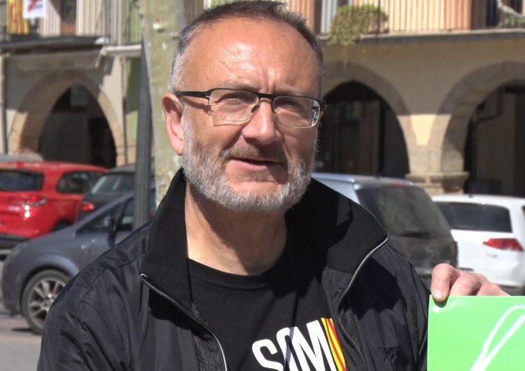 Josep Maria Colea, candidat de la CUP Balaguer a les municipals