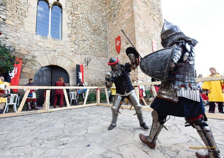II Combat Medieval al Castell de Montsonís, el dissabte 30 de juny