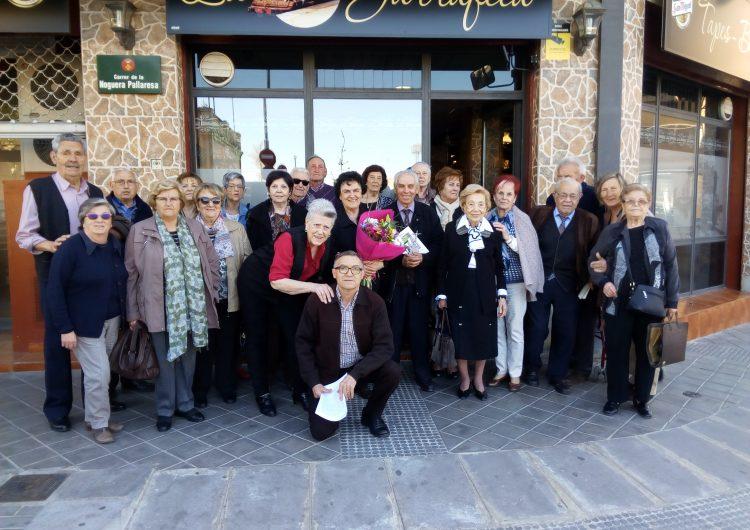 Dinar de comiat del director de la coral del casal de la gent gran de Balaguer