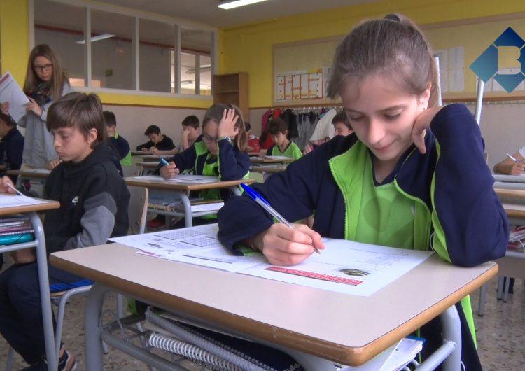 Comencen les proves d'avaluació de les competències bàsiques a Catalunya