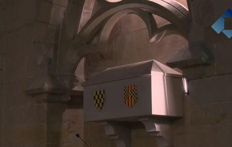 La digitalització dels sepulcres dels comtes d'Urgell podria acabar-se aquesta setmana