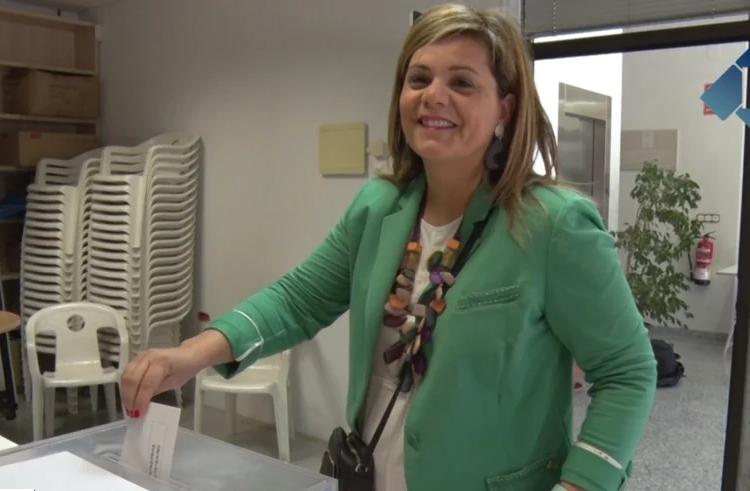 Eleccions generals: Votació de Concepció Cañadell, segona de la llista de JuntsxCat al Congrés per Lleida