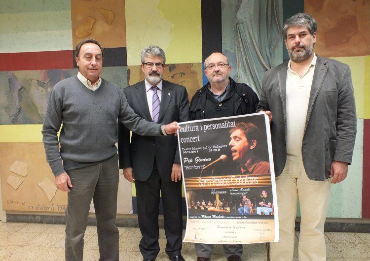 Música tradicional valenciana a Balaguer amb Pep Gimeno 'Botifarra'