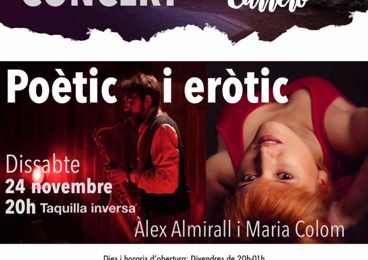 Concert eròtic i maridatge de vins per inaugurar el celler de Lo Carreró de Montgai