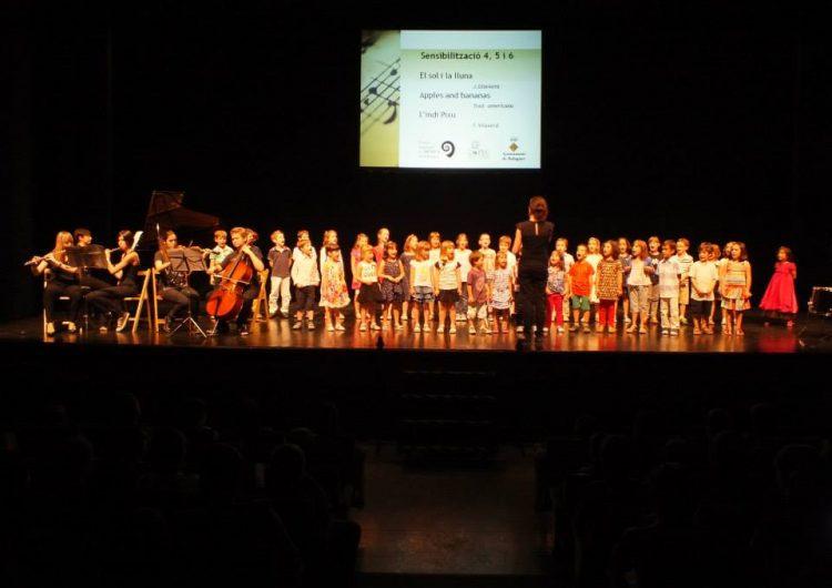Concert de final de curs de l'Escola Municipal de Música de Balaguer