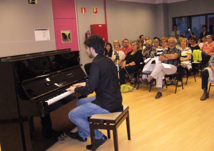 Bernat Giribet ofereix un passeig per la història de la Música a Artesa de Segre