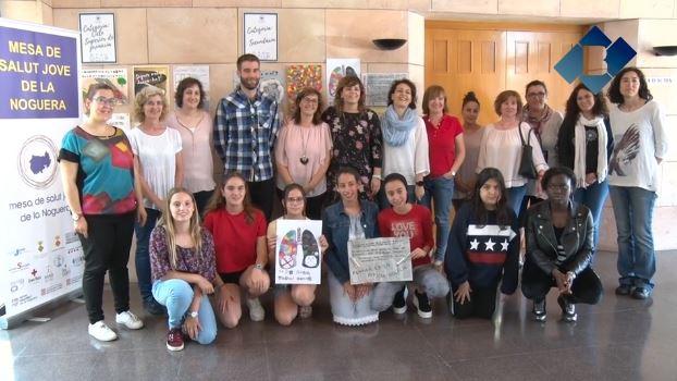 L'Escola Joan Ros Porta de Menàrguens i l'INS Ermengol IV de Bellcaire d'Urgell guanyen el Concurs de Cartells Contra el Tabac