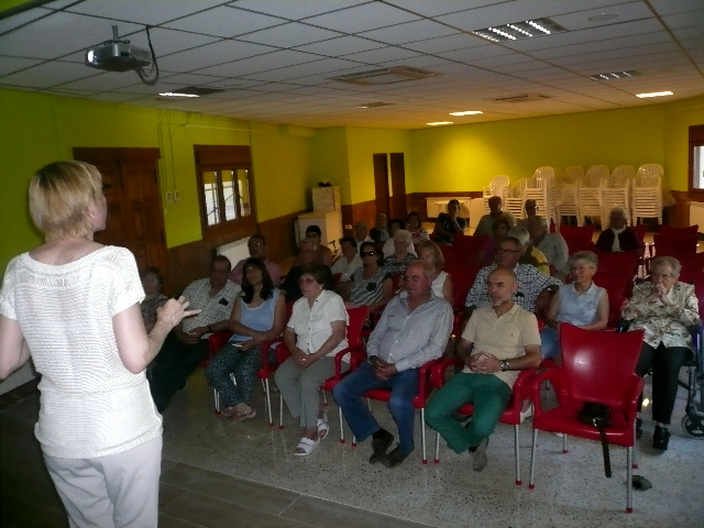 Conferència sobre neuroprevenció a Alòs de Balaguer