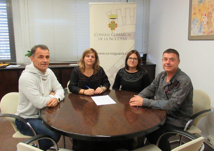 Acord de col•laboració entre el Consell Comarcal de la Noguera i Càritas Diocesana d'Urgell