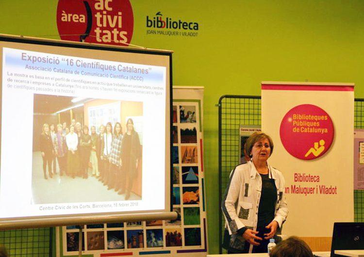 Conxita Solans parla de dones científiques a Artesa de Segre