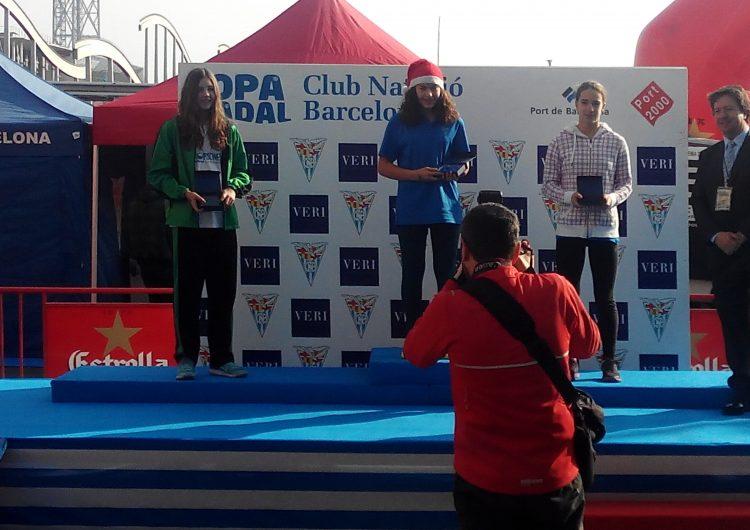 Aurembiaix Pifarré, tercera classificada a la Copa de Nadal del Port de Barcelona