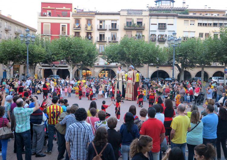 Balaguer celebra el Correllengua amb els ulls posats al 9N