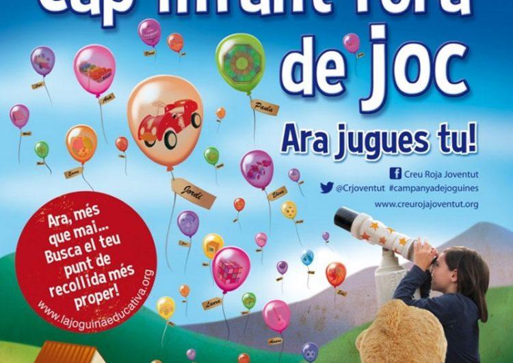 Creu Roja Joventut Lleida preveu que distribuirà joguines a uns 2.000 nens i nenes