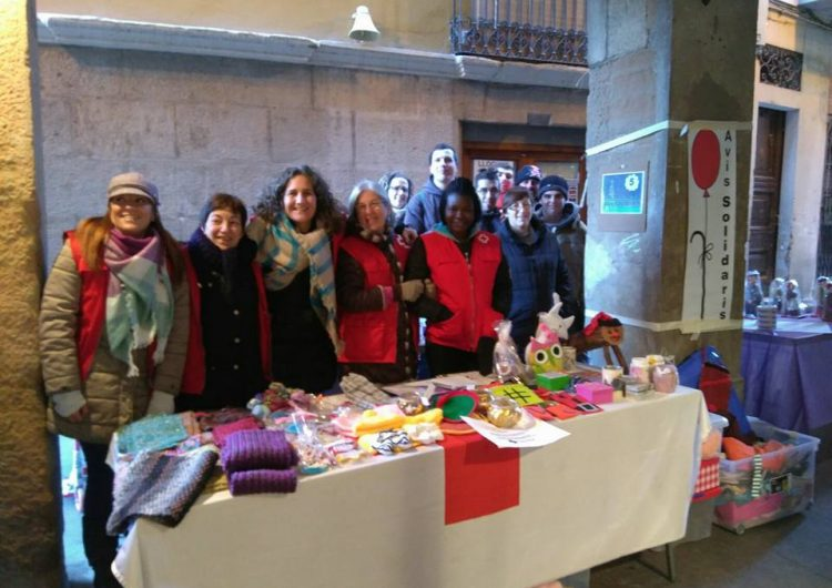 """Una setantena d'avis i àvies de la comarca participen del projecte """"Avis Solidaris"""" de Creu Roja la Noguera"""